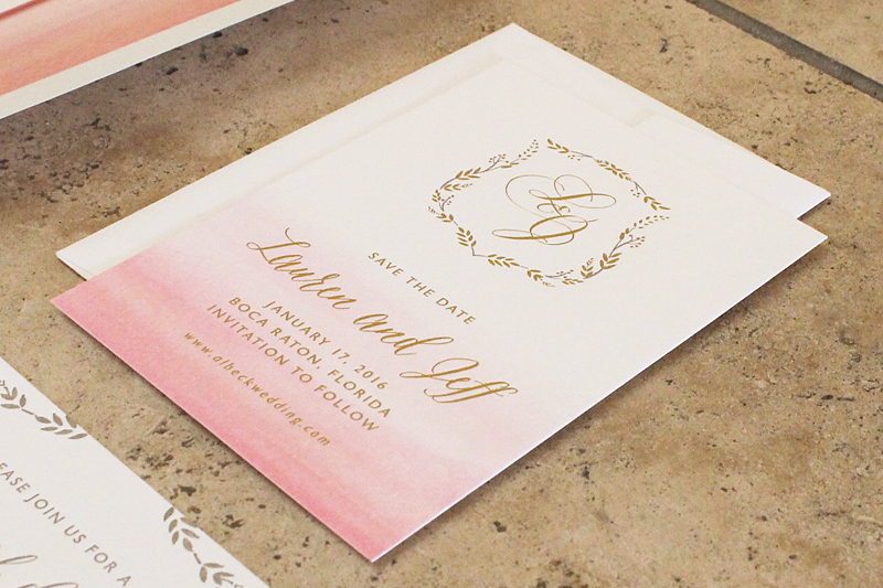 blush-watercolor-gold-foil-letterpress-wedding-invitations