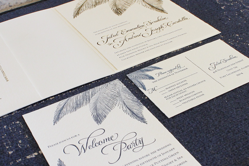 navy-gold-foil-palm-tree-wedding-invitations