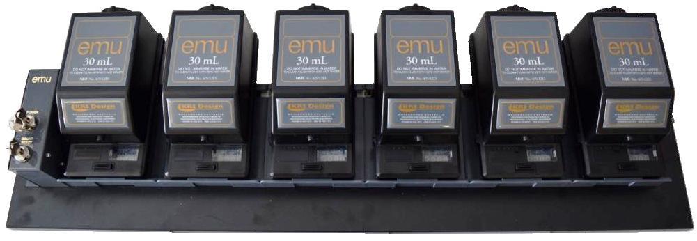 6 Way EMU System 30mL Black