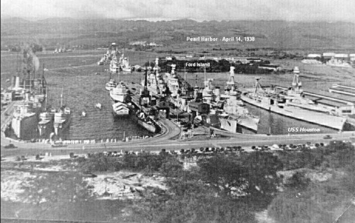 PEARL HARBOR APRIL 14, 1938
