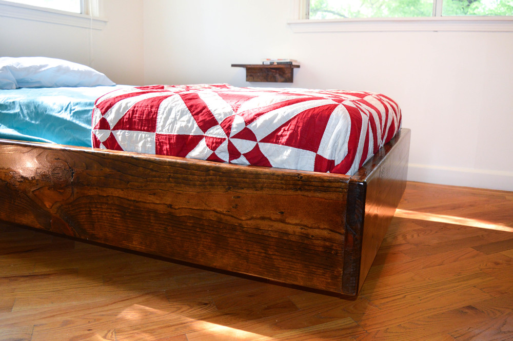Twin Floating Bed Side