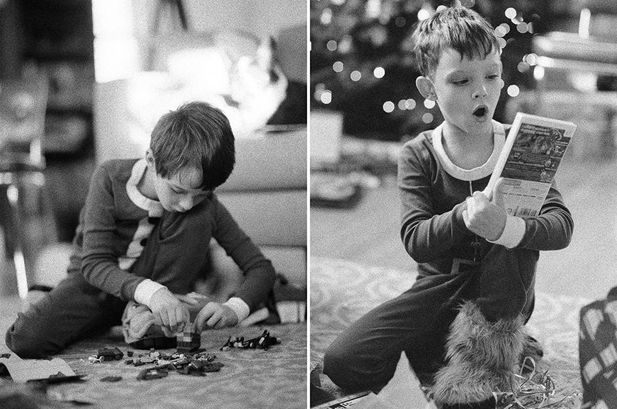 Christmas morning on film, by Sandra Coan, Little Bellows