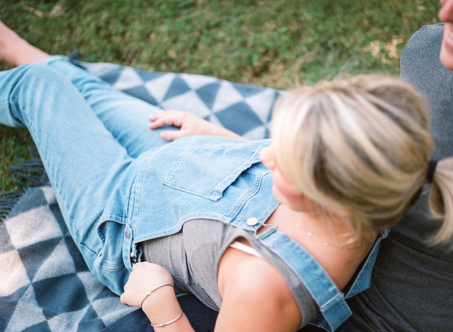 Jamie L Vinson maternity on film: Little Bellows
