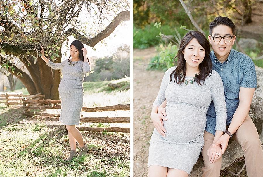 Joyce Kang, maternity on film for Little Bellows