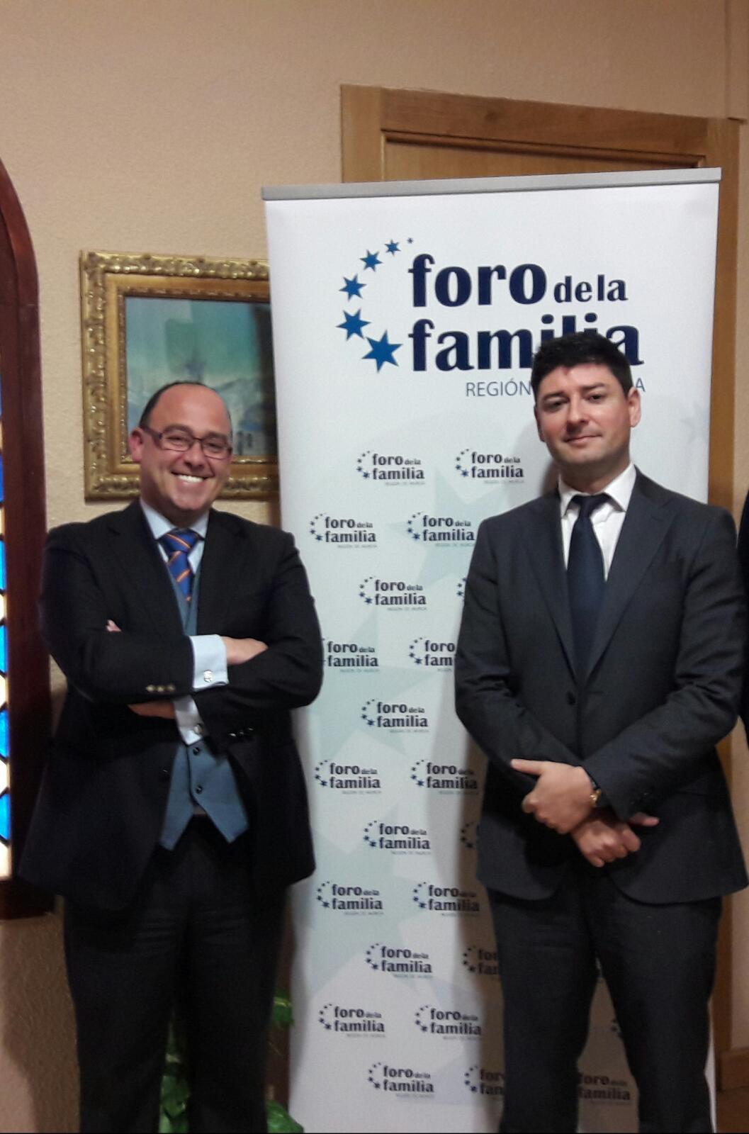 Alfonso y Gabriel, Presidentes entrante y saliente, respectivamente.