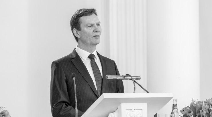 Volli Kalm - Tartu Ülikooli rektorVari:Natali Atamanova