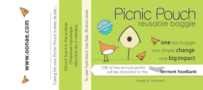 Picnic Pouch Product Tag