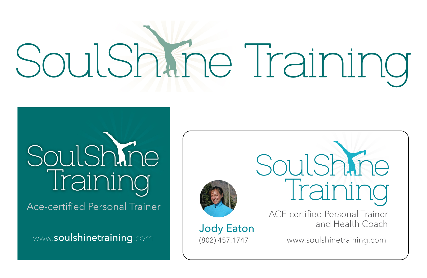 Logo Design and Business Cards for SoulShine Training