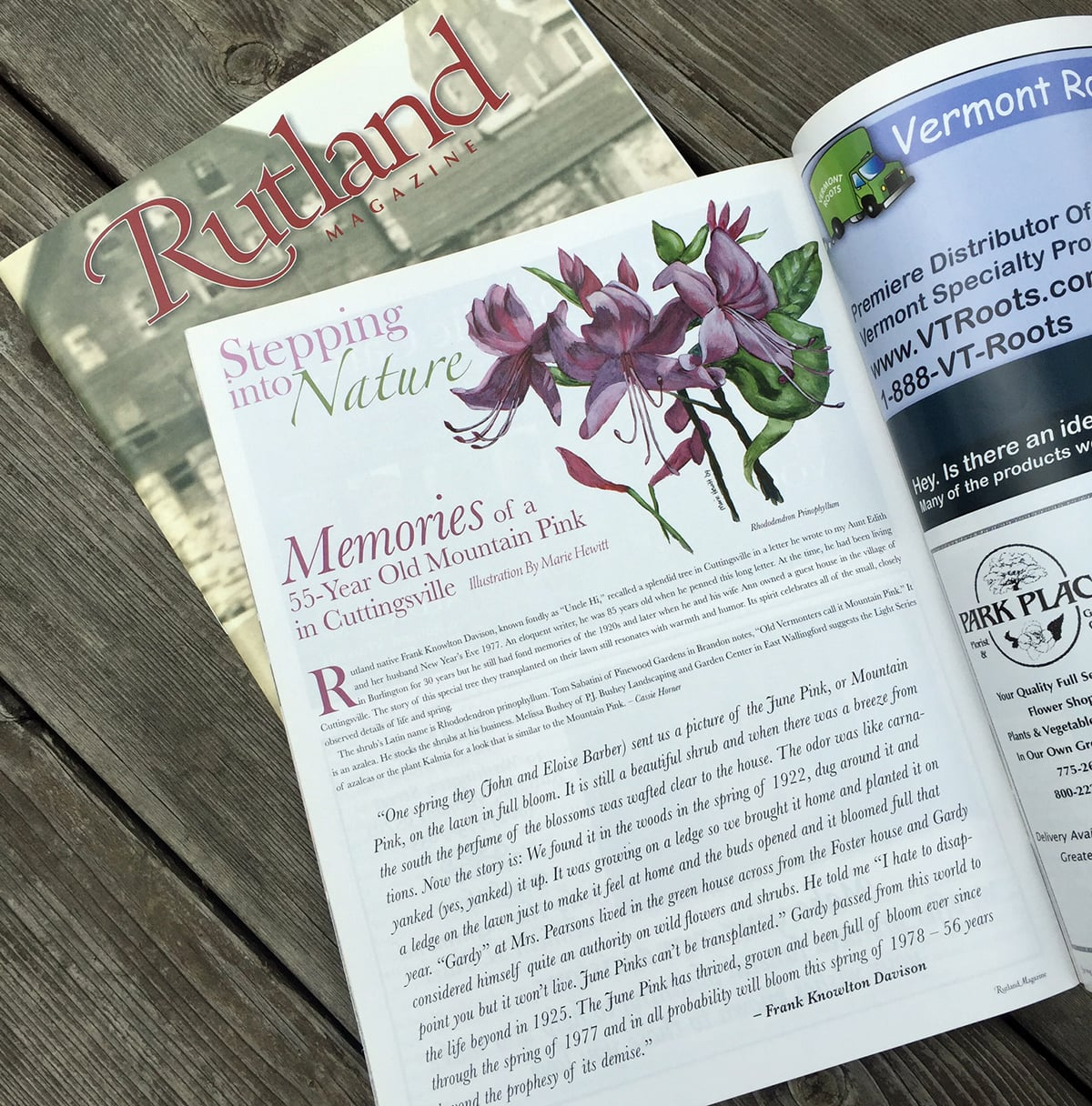 Rutland Magazine Layout and Design
