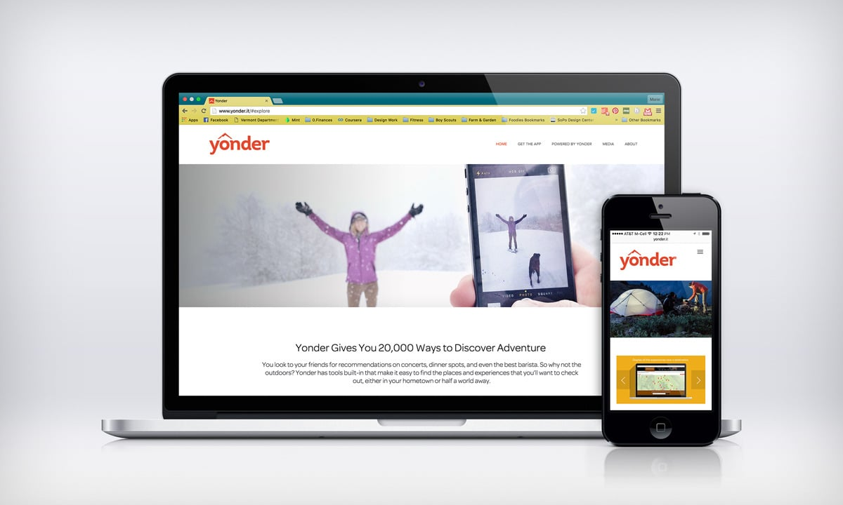 Yonder Website Design