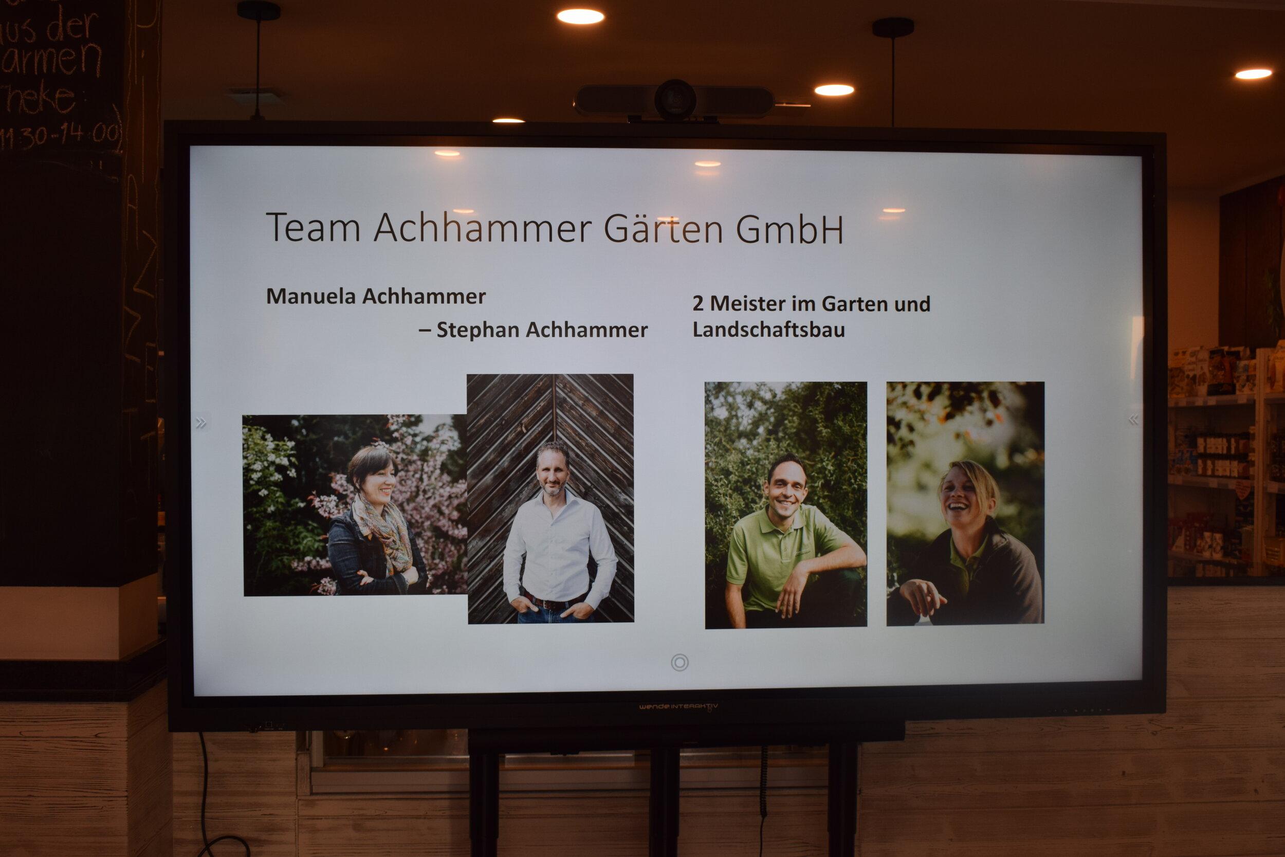 Auch das Team wurde vorgestellt.