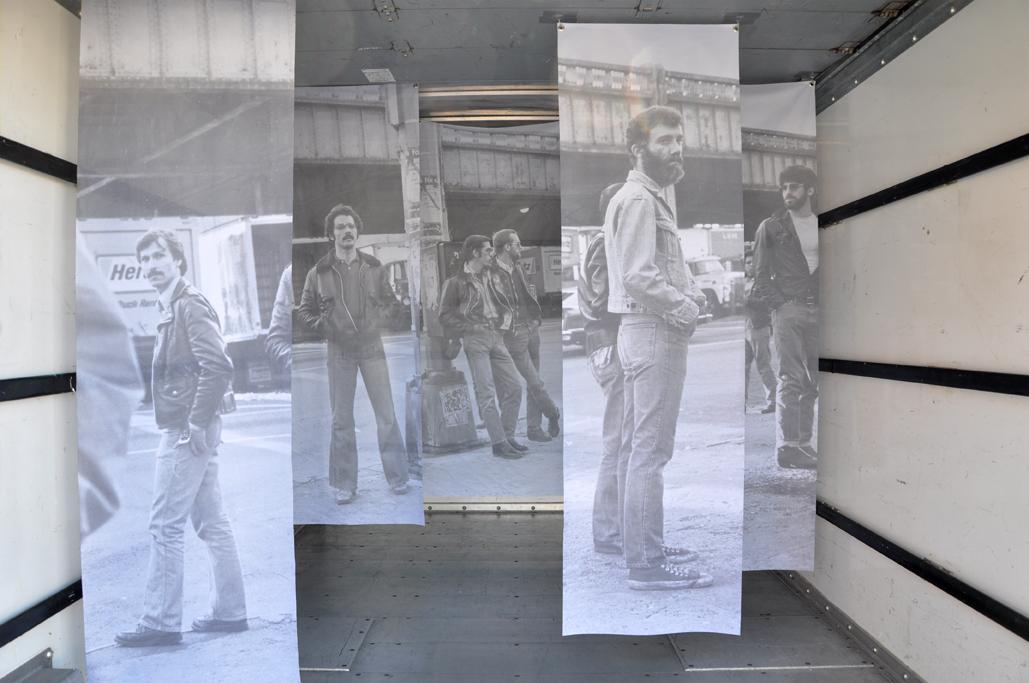 leonard fink, gay, truck, sex, installation, art, 1970's, new york