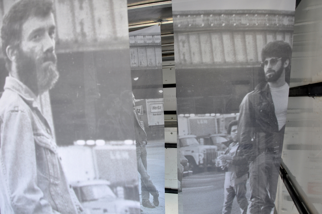 leonard fink, gay, truck, sex, installation, art, 1970's, new york, fuck, cruise, cruising