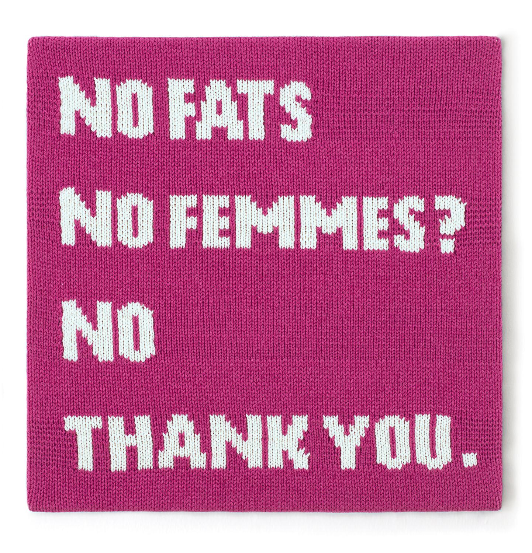 NO FATS NO FEMMES? NO THANK YOU.