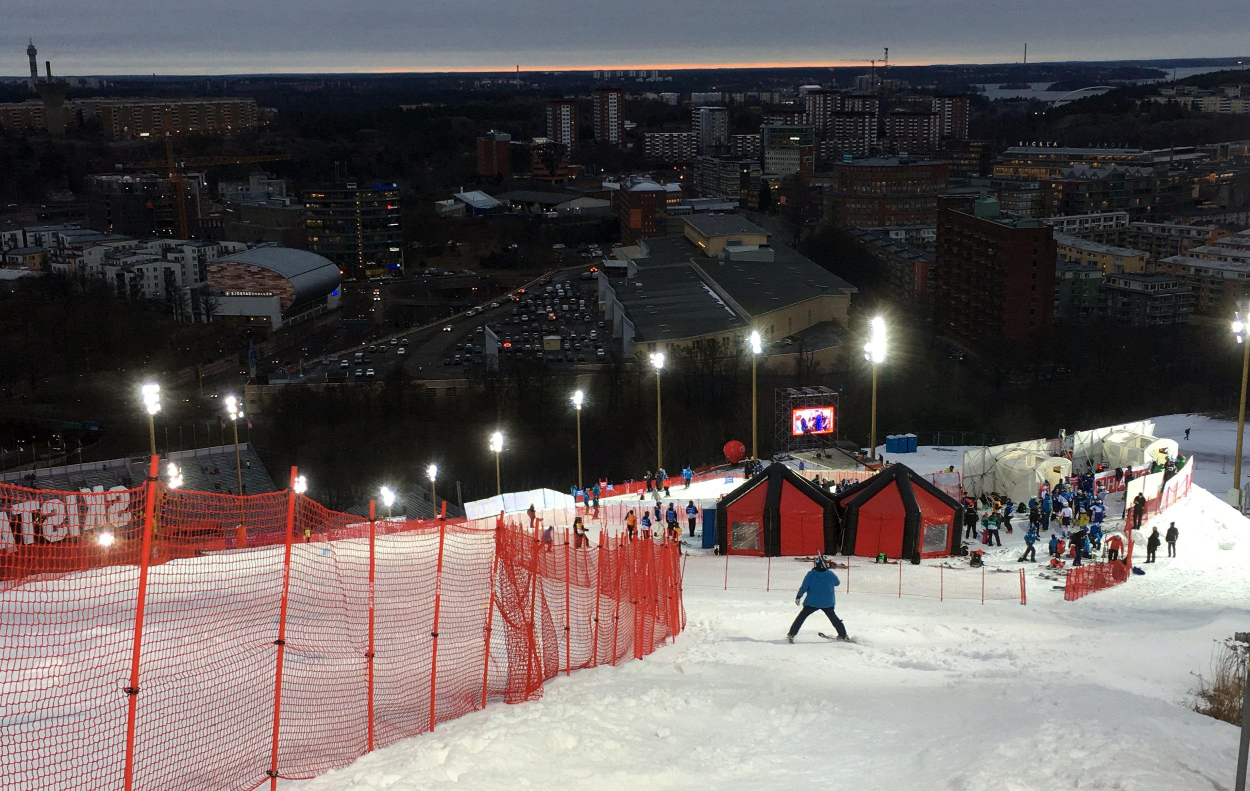 Stockholm Hammarby parallel slalom was a super success