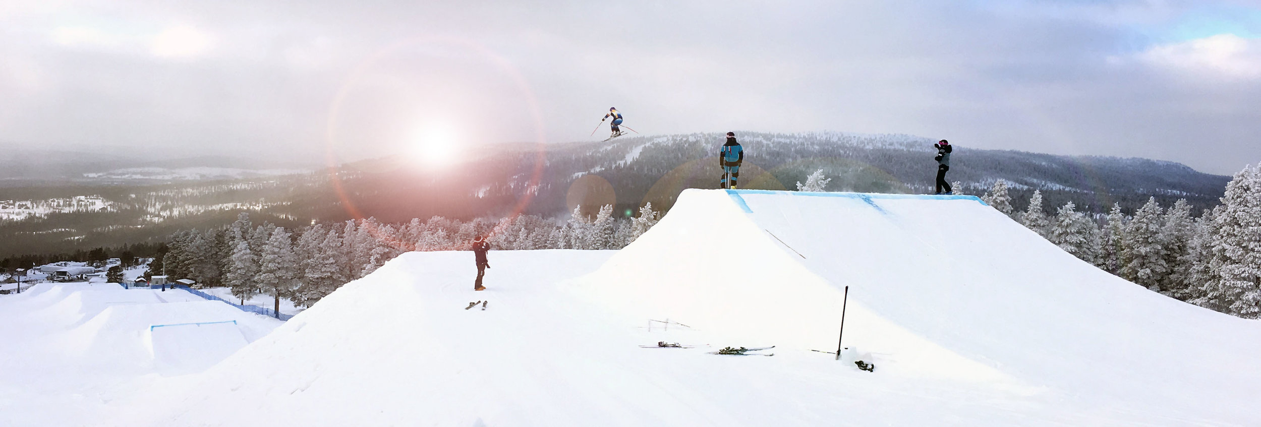We are very happy to have taken part of the excellent production and team in Idre for Skicross World Cup that SVT carried out and was Host for.