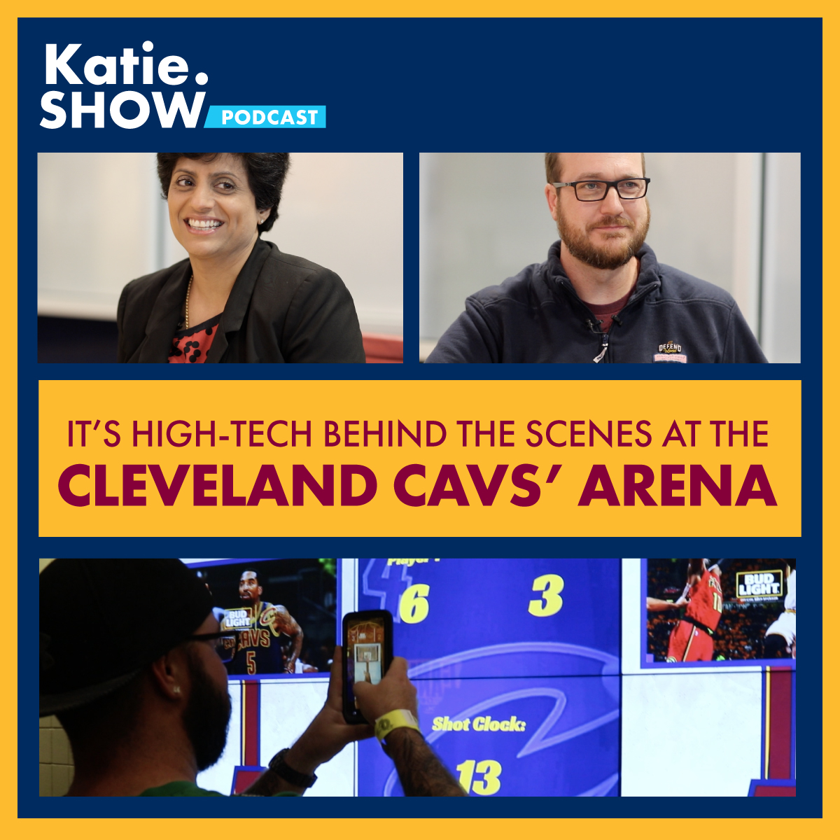 best loved 3ffcb 23d20 Katie.Show | EP 67: It's Hi-Tech behind the scenes at the ...
