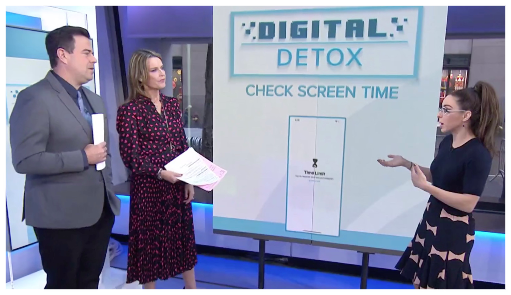 Katie On Today: Digital Detox