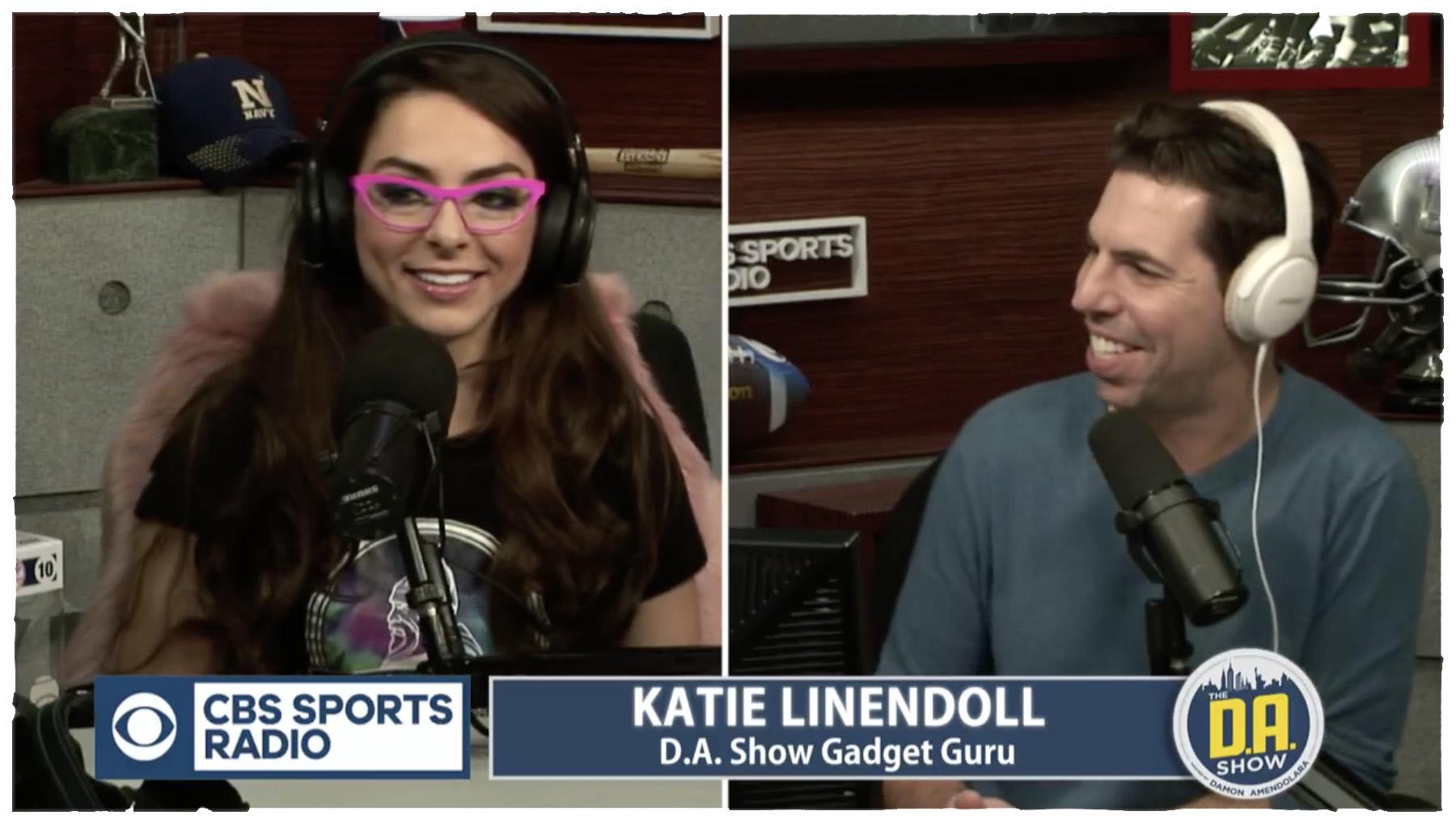 Katie Talks Winter Running Gadgets On The DA Show
