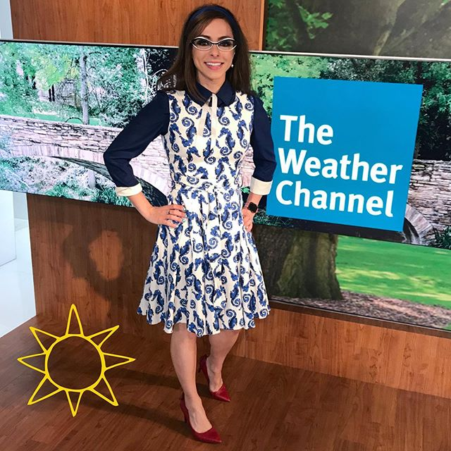 Bright & early - 740am ET on @amhqontwc @weatherchannel - discussing what it's like to have a degree & career in tech — with the ammmaze @stephanieabrams!! 👩🏻‍💻☀️🌩 . . #geekandglam #stemtech #girlswhocode #techgirl #techgirls #techie #codinglife #codinggirl #codinggirls #stemgirls #stemeducation