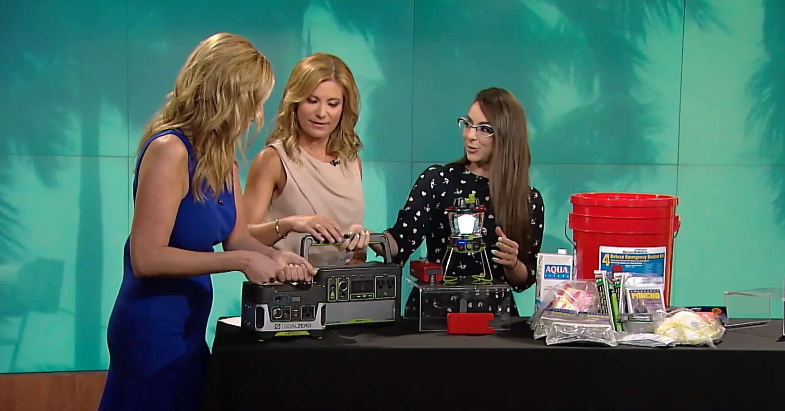 Katie Linendoll Shares Gadgets to Help During Hurricane Season on The Weather Channel