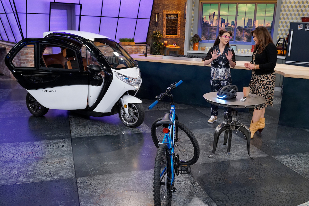 "Rachael Ray is pictured during the production of ""The Rachael Ray Show"" in New York on Thursday, Oct. 25, 2018. Photo: David M. Russell/Rachael Ray Show �2018 King World Productions. All Rights Reserved."