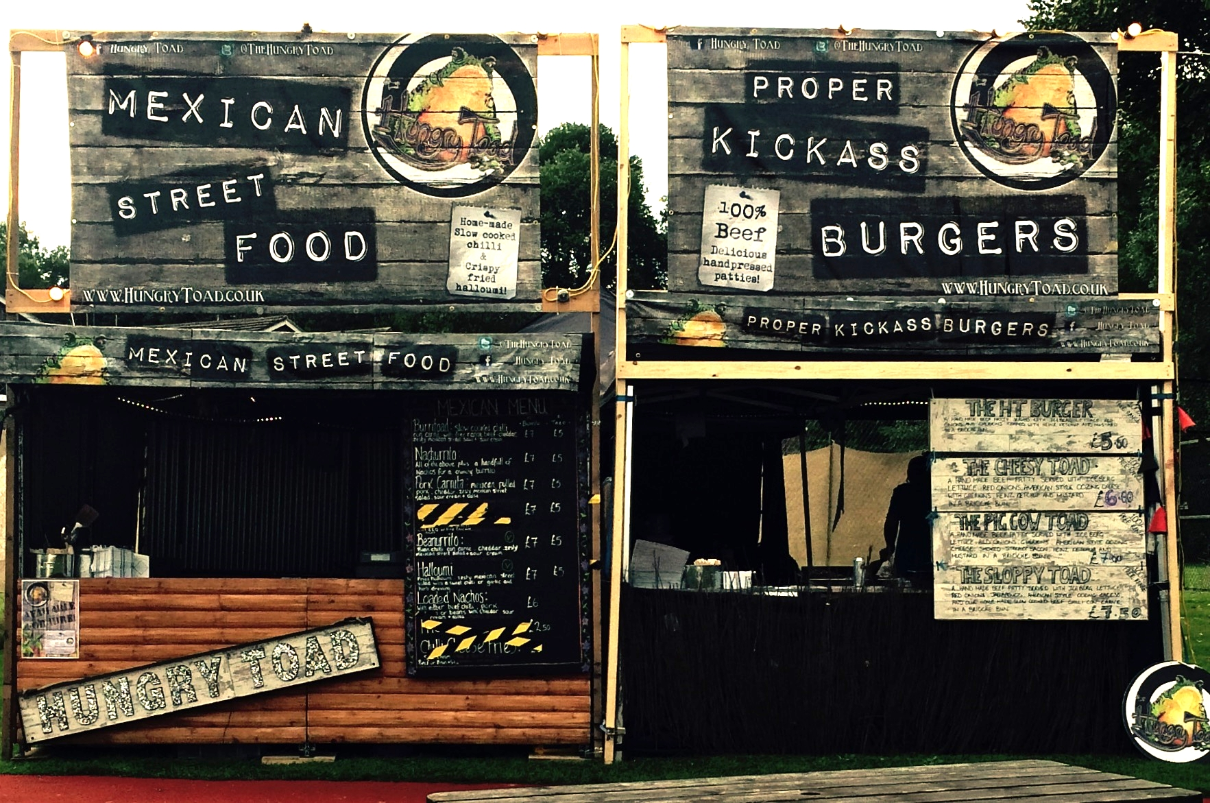 Hungry Toad Street Food Double Set Up 6m x 6m