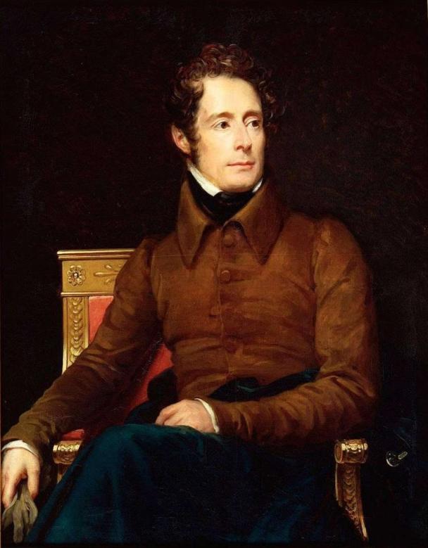 Alphonse de Lamartine:  Image Source