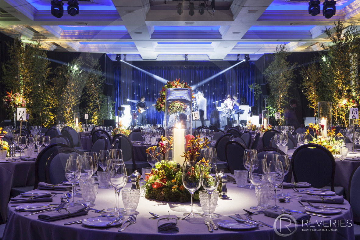 Enchanted Garden Party - Table design with bespoke centrepiece