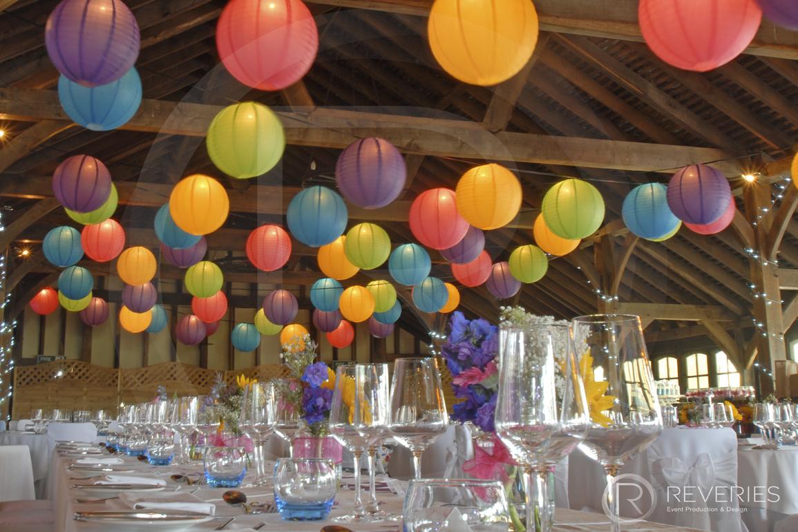 Wedding Decor Lighting Paper Lanterns