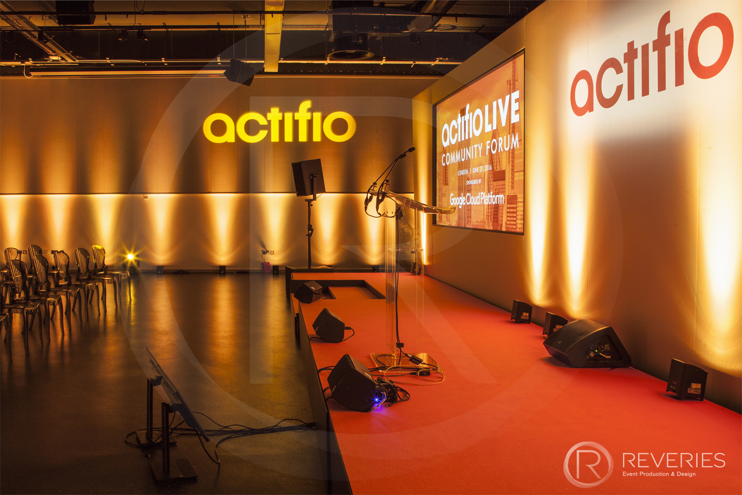 Actifio Conference Production Event Management