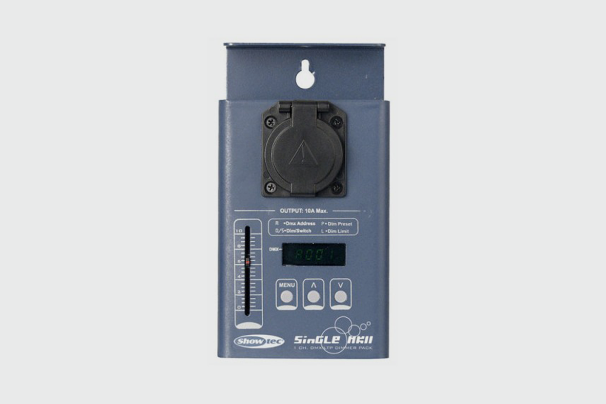 SHOWTEC SINGLE CHANNEL DIMMER - £5.00 Daily / £10.00 Weekly