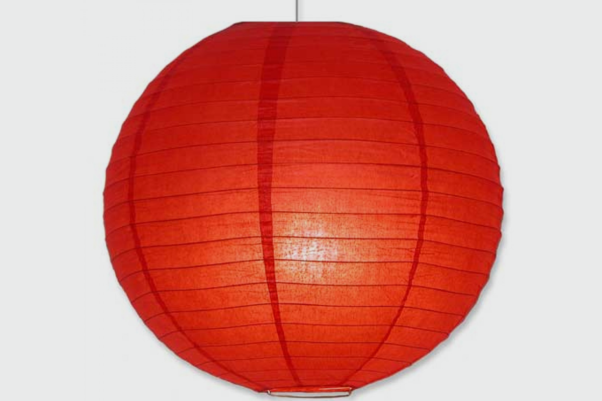 PAPER LANTERN - VARIOUS COLOURS - FROM £4.25 DAILY / £8.50 WEEKLY