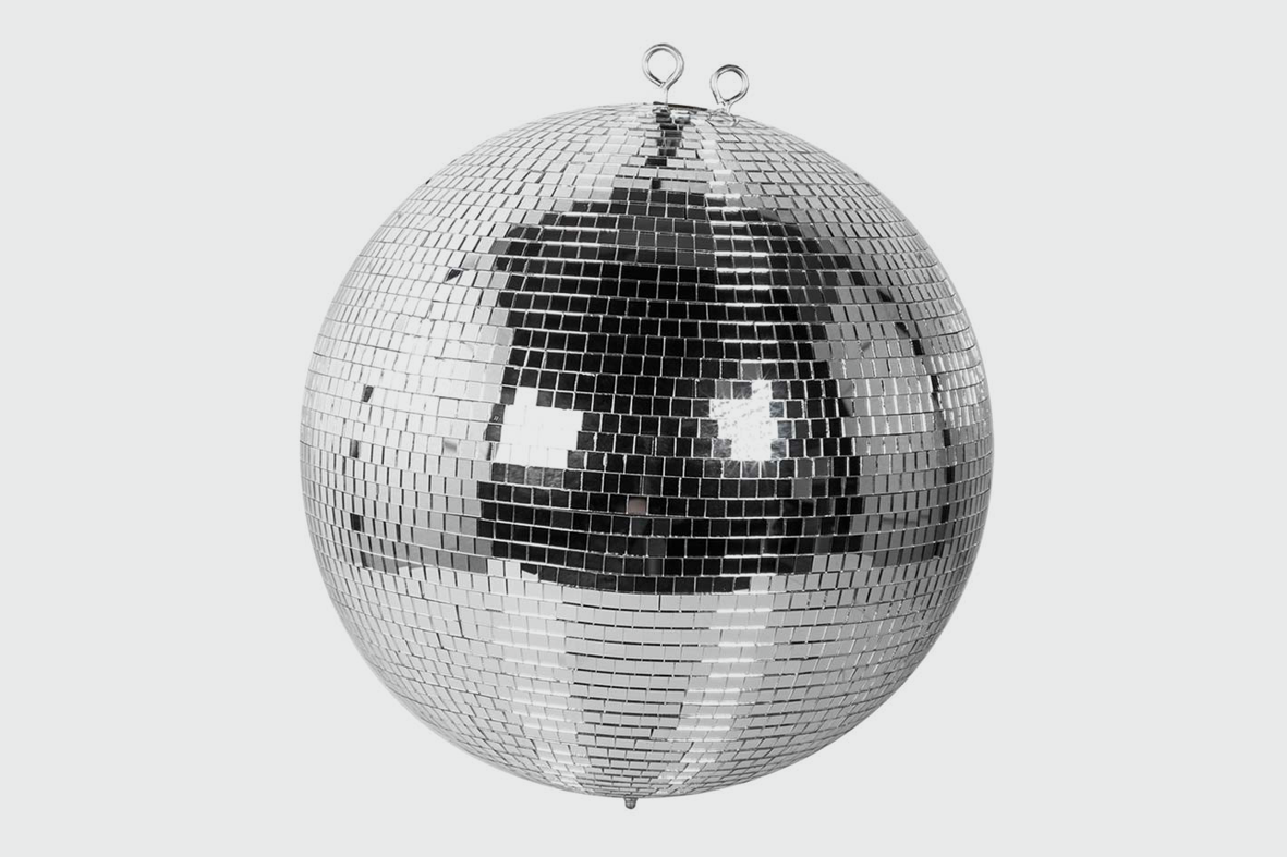 100CM MIRRORBALL AND MOTOR - £100.00 DAILY / £200.00 WEEKLY