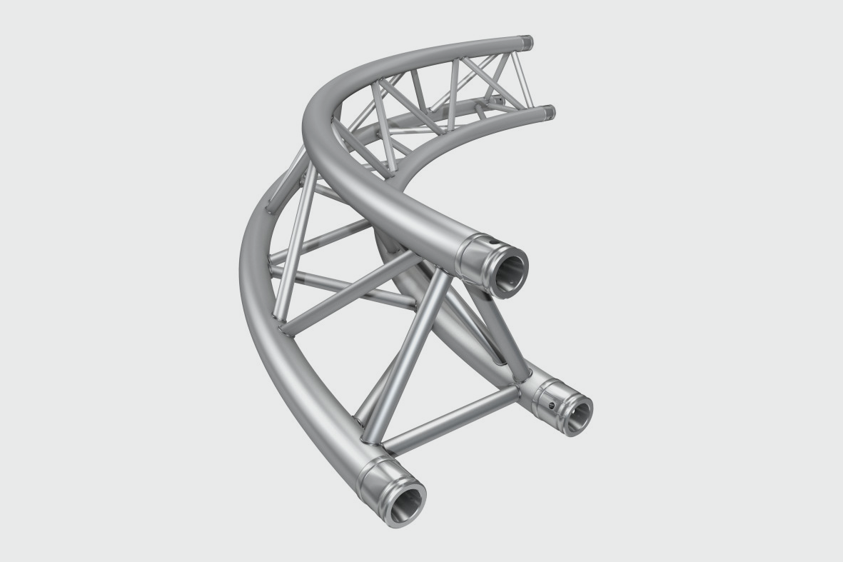MILOS TRI TRUSS CURVED SEMI CIRCLE - £33.00 DAILY / £66.00 WEEKLY