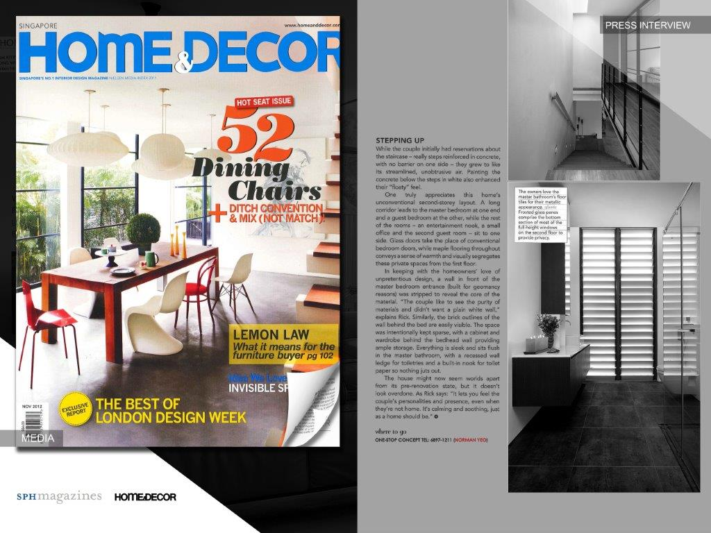 Home & Decor, Nov 12 SPH Magazines