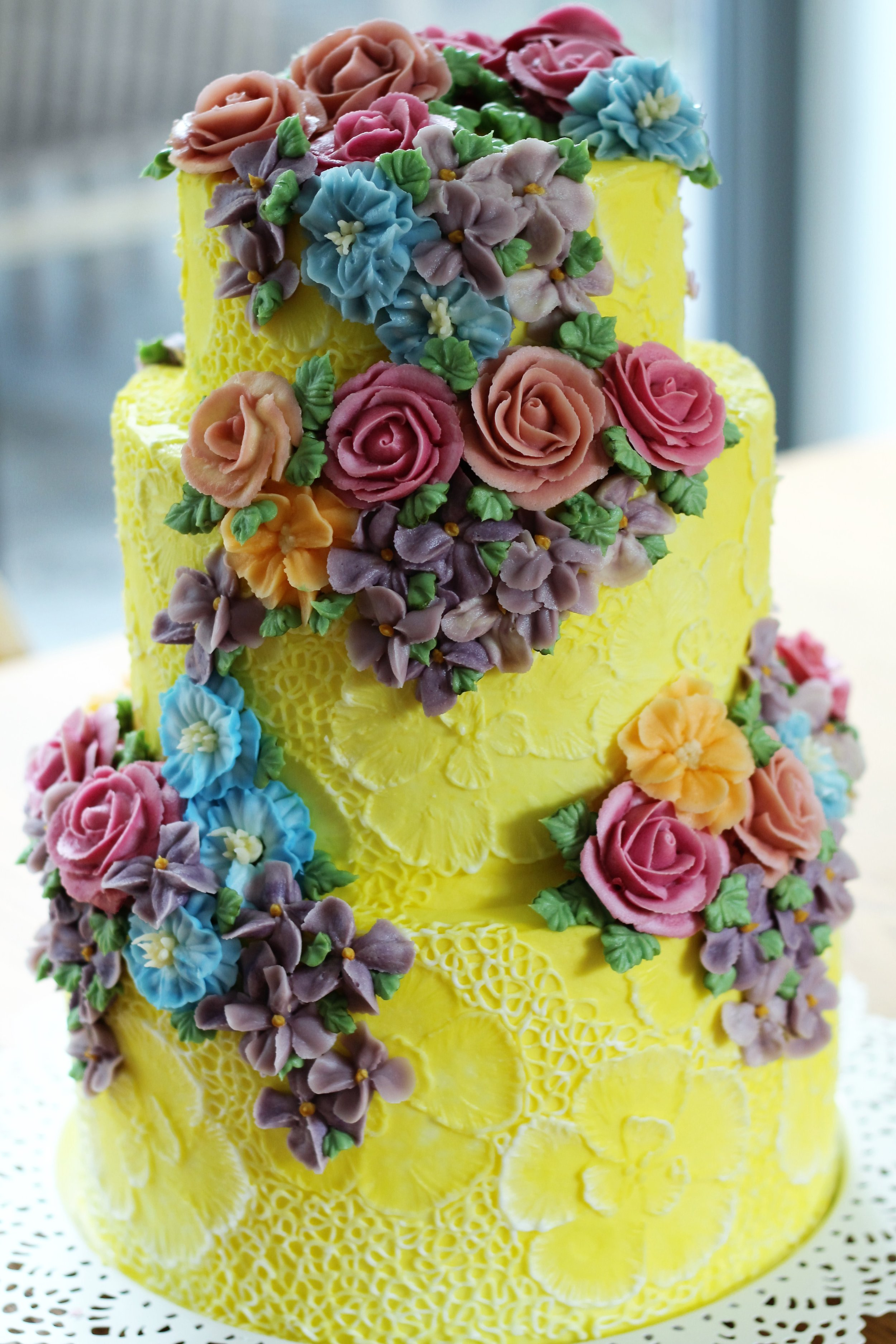 Emma Page Buttercream Cakes London