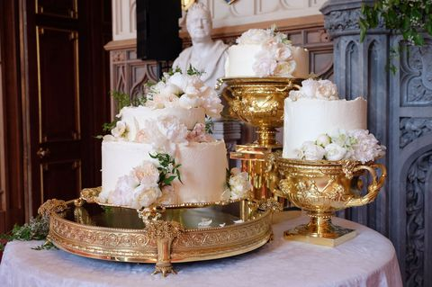 Price Harry and Meghan's buttercream wedding cake: elegant, stylish and delicious-looking.