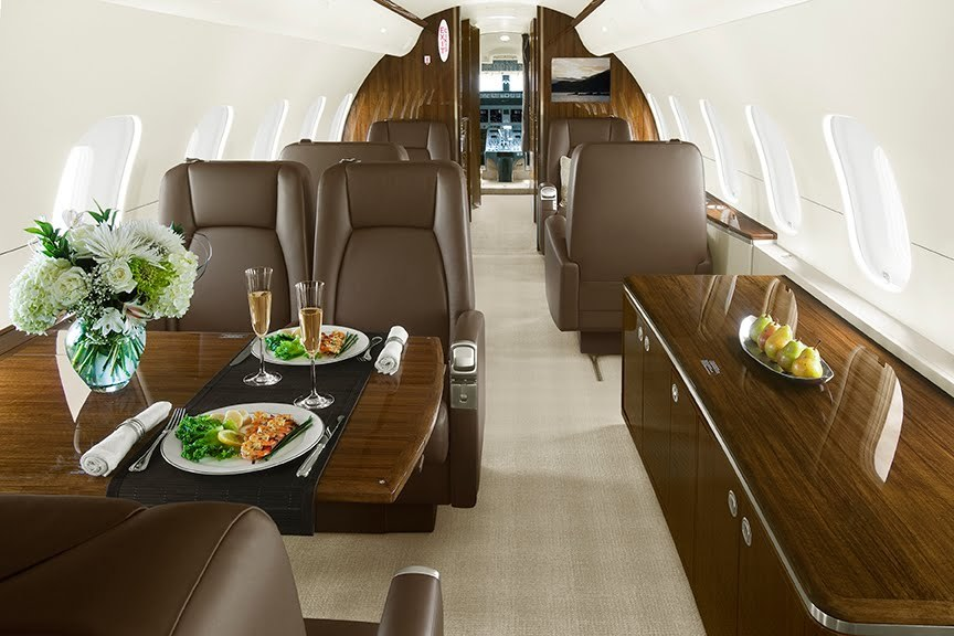2009 Bombardier Global 5000 For Sale - Interior 1