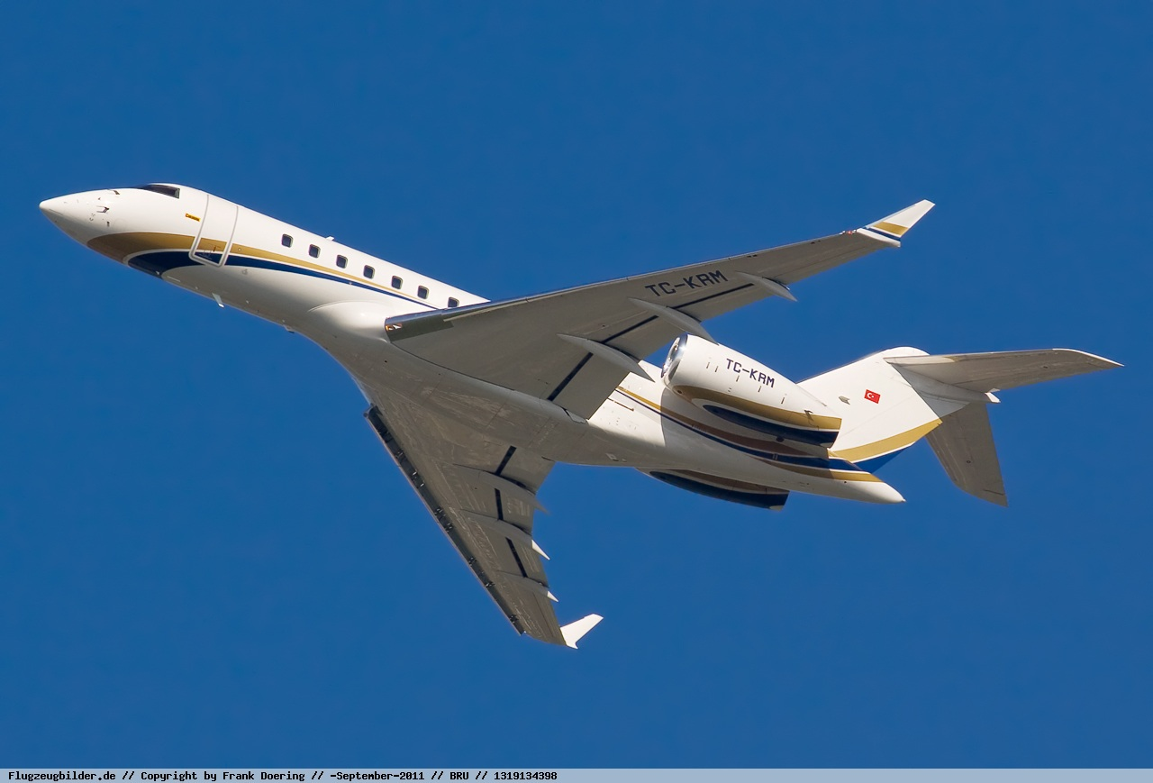 2009 Bombardier Global 5000 For Sale - Exterior 1