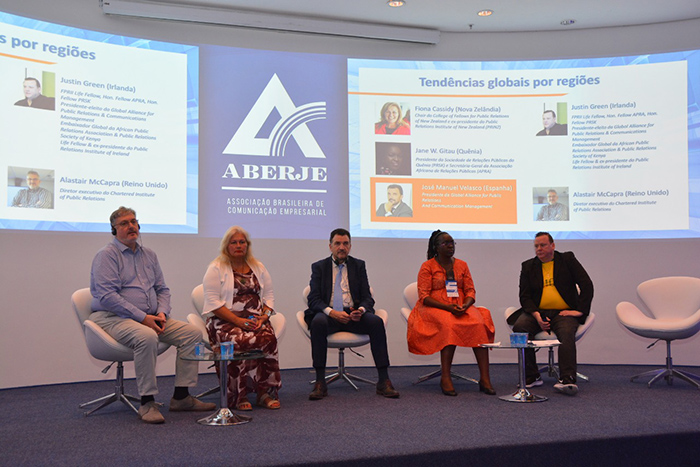 Global Alliance board presents at Aberje Trends Conference in São Paulo – Brazil