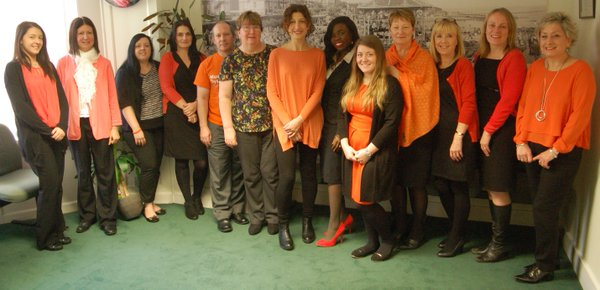 Boys and Maughan go Orange for Oasis