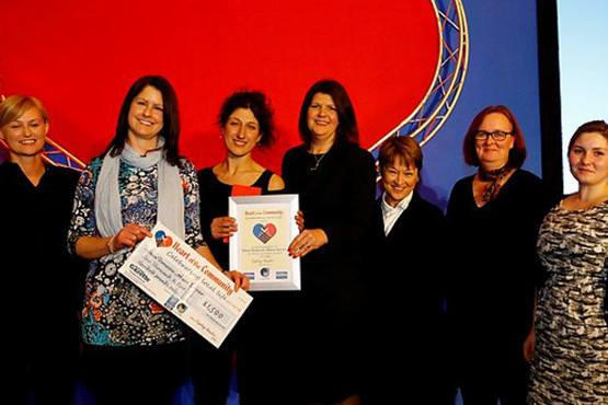 Heart of the Community Award - Oasis Domestic Abuse Service receives award