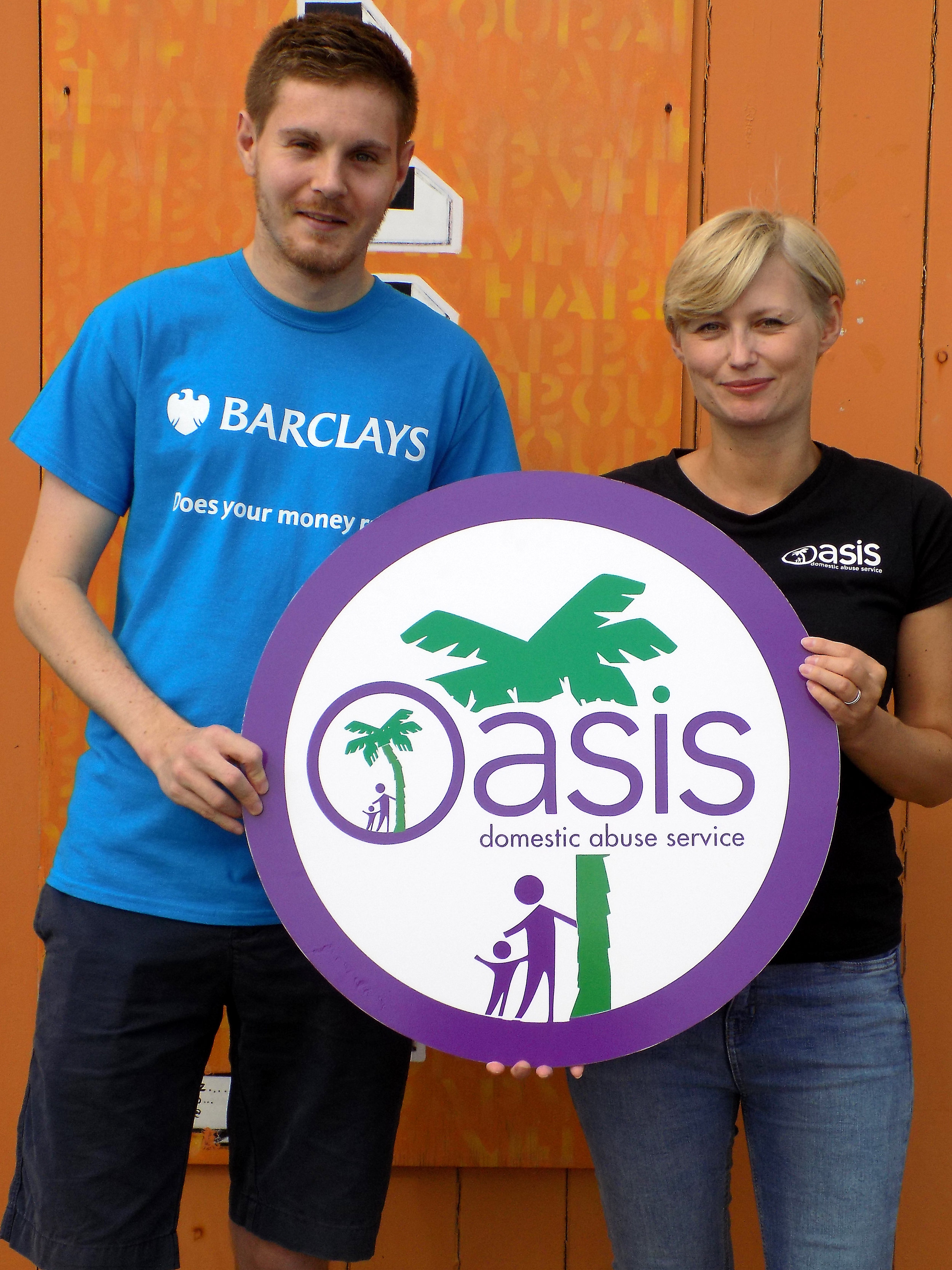 We're very grateful to Barclays Bank who provided £3000   match funding for the event
