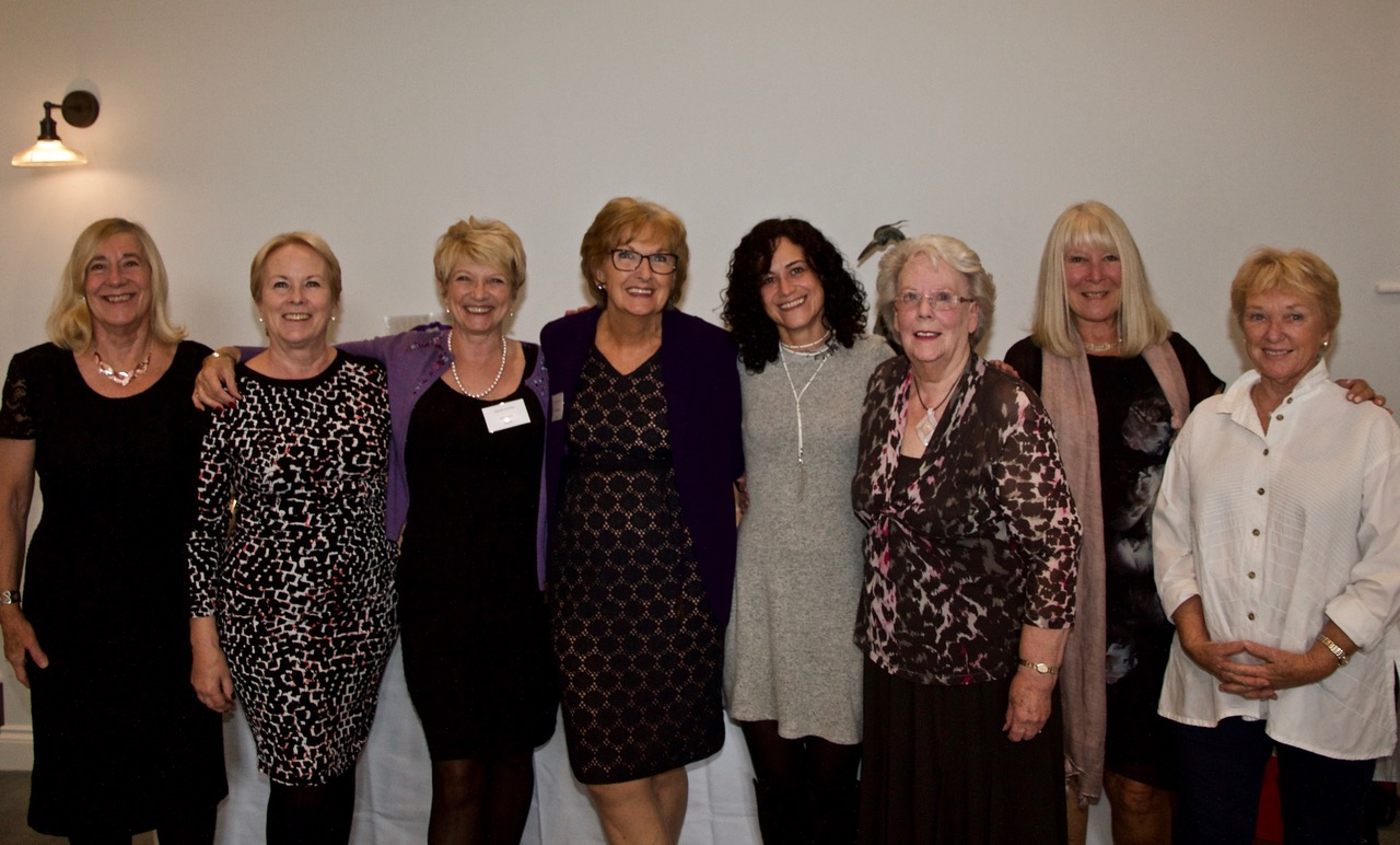 The Friends of Oasis Committee celebrating at the 3rd Annual Lunch
