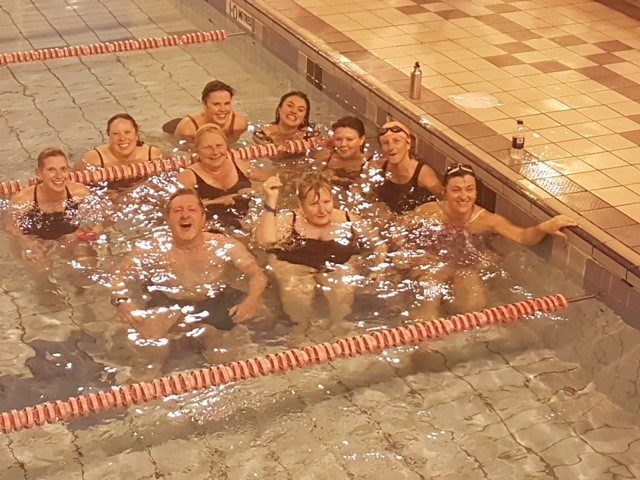 Photo: Walpole Bay Swimmers take on the Swimathon