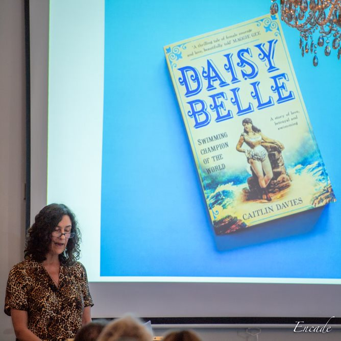 """Caitlin Davies featuring her new book """" Daisy Belle """""""