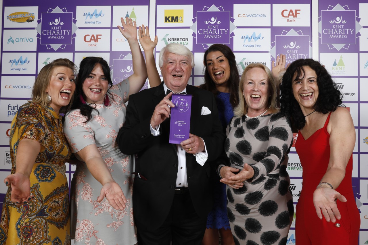Can you tell how excited we were to win charity of the year?