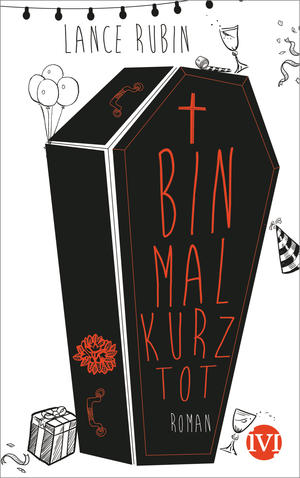 DENTON comes out in Germany on May 11th from Piper Verlag. This cover, with its celebratory coffin, is amazing.
