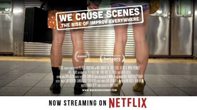 Have you seen this awesome doc yet? You should watch it on Netflix immediately. And then listen to  this ep  of me and Ray's podcast, where we have a great talk with Improv Everywhere founder Charlie Todd.